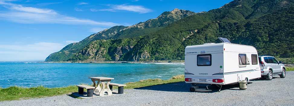 touring caravan